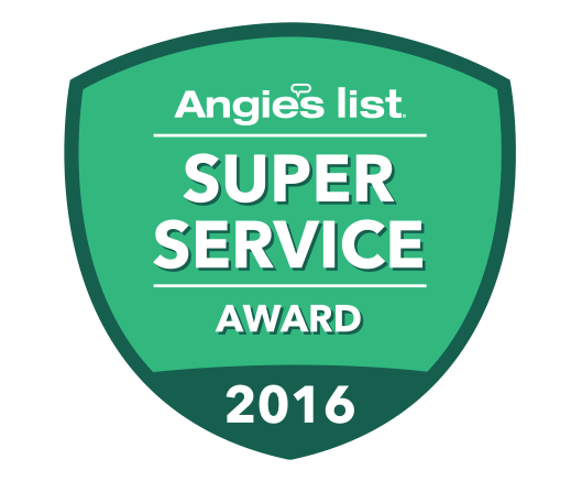 Angieslist Super Service Contractor