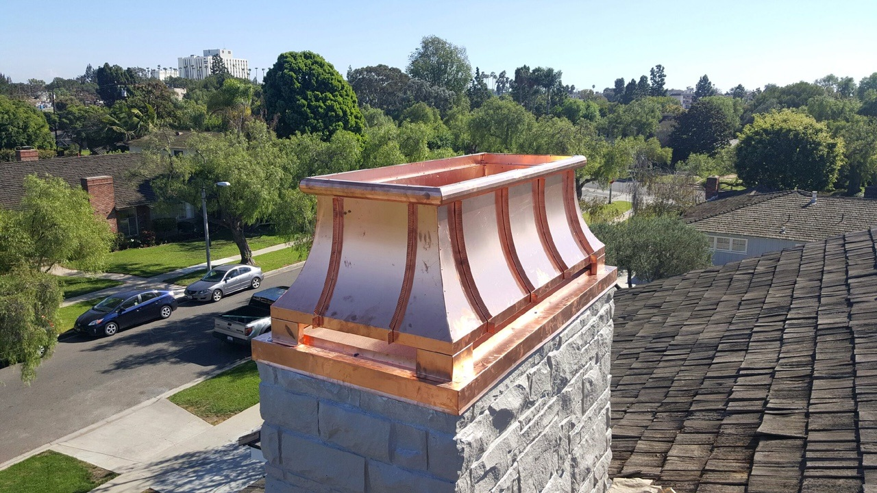 Chimney Cap Installation And Replacement
