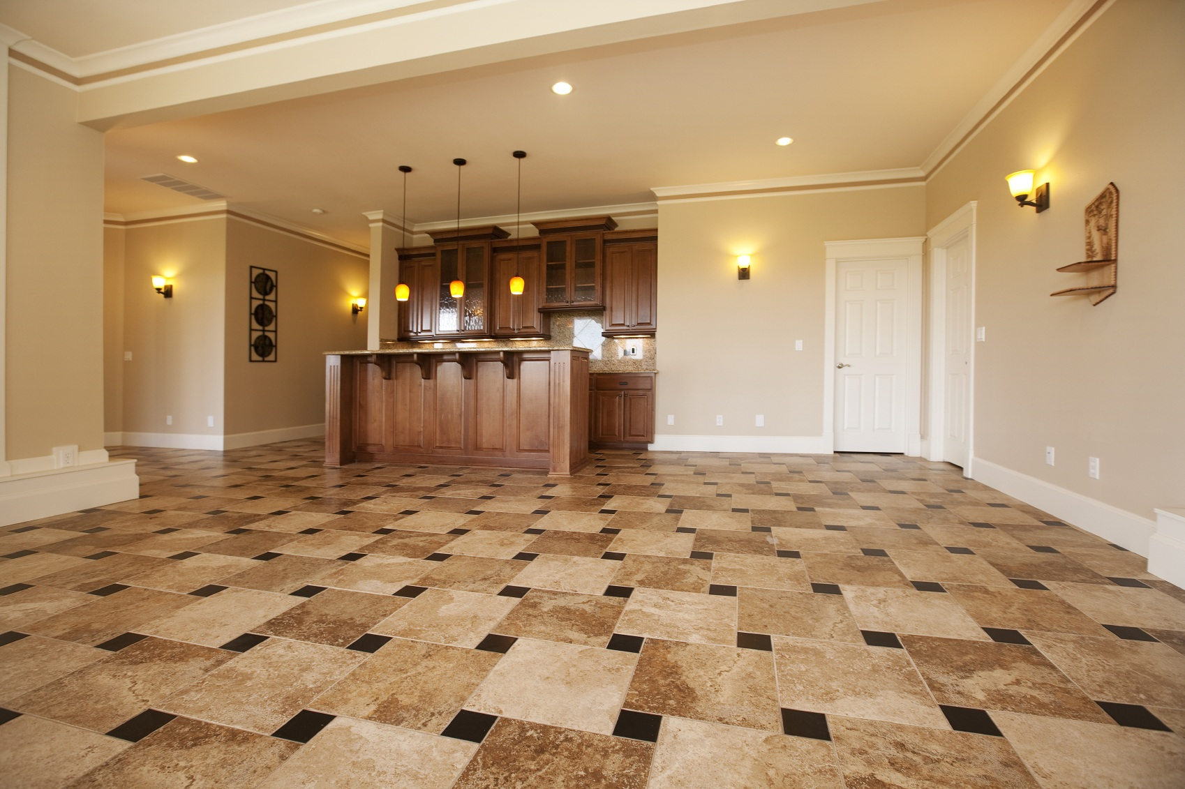 Laminate and Tile Flooring Installation