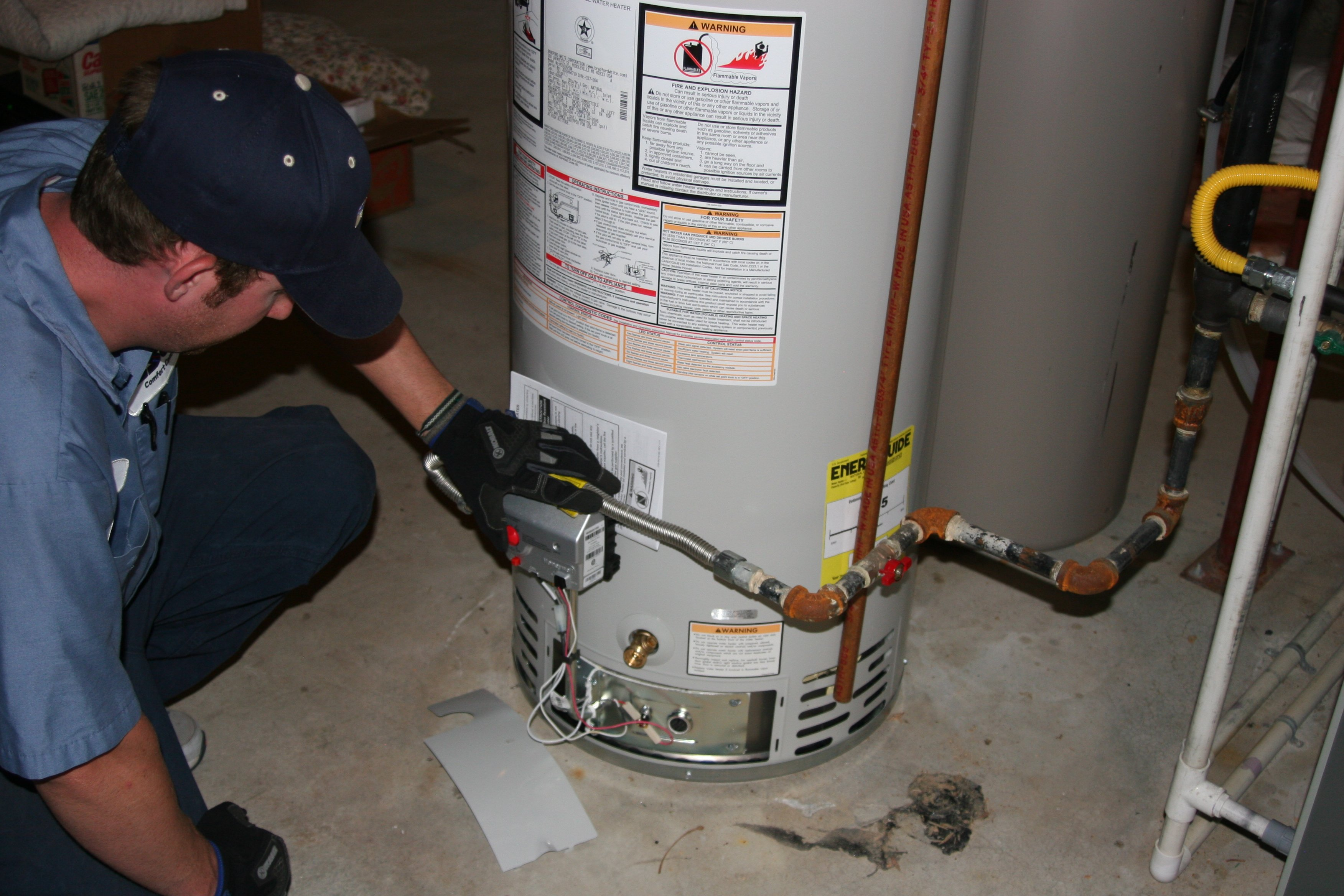 Water Heater Installation and Replacement